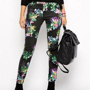 Insight Denim Mid Rise Super Slim Black Jeans- 26